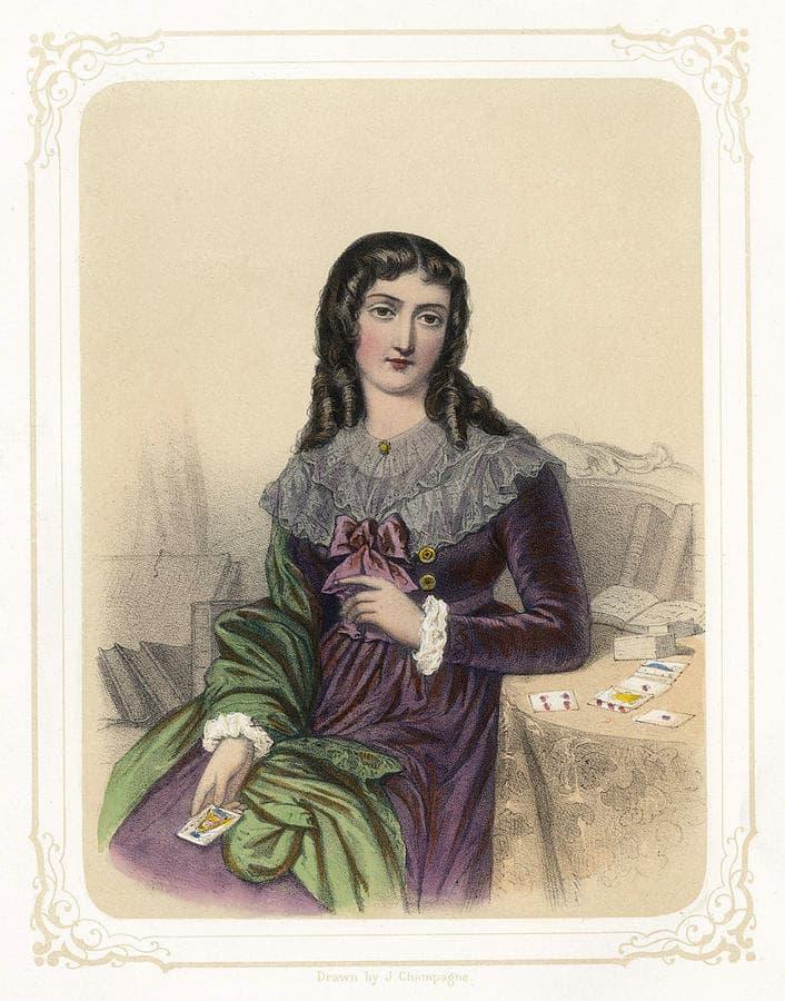 Marie-Anne Lenormand, sibille, tarocchi